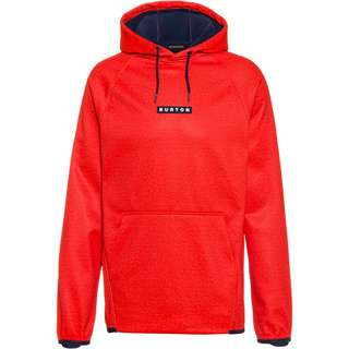 Burton Fleeceshirt Herren flame scarlet heather