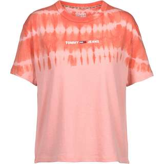 Tommy Hilfiger T-Shirt Damen sweet peach-multi