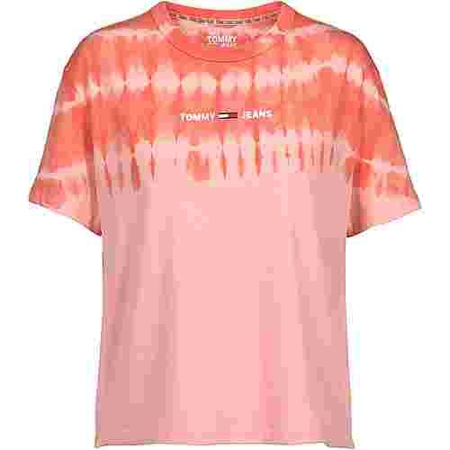 Tommy Hilfiger T-Shirt Damen sweet peach-multi