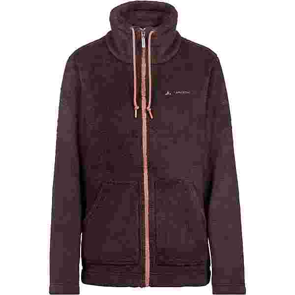 VAUDE KITIRA Fleecejacke Damen pecan brown