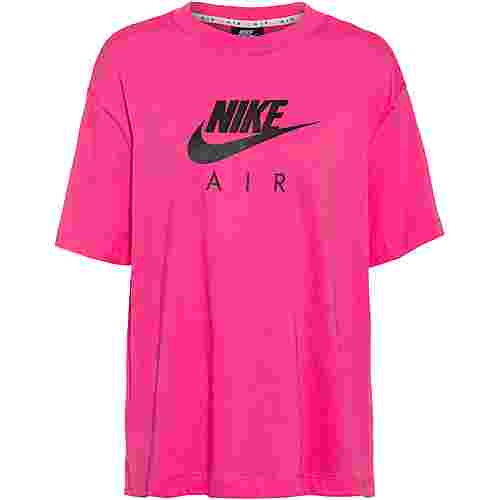 Nike NSW Air T-Shirt Damen pinksicle-black