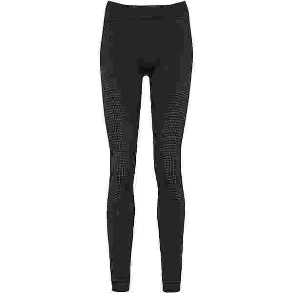 Odlo PERFORMANCE WARM ECO Funktionsunterhose Damen black new odlo graphite grey