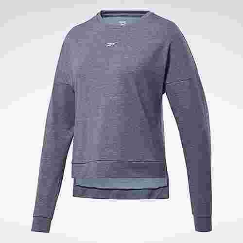 Reebok ACTIVCHILL+COTTON Long-Sleeve Shirt Funktionsshirt Damen Blau