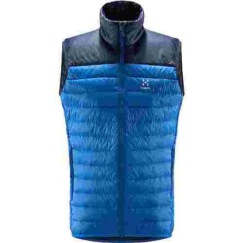 Haglöfs Spire Mimic Vest Outdoorweste Herren Storm Blue/Tarn Blue