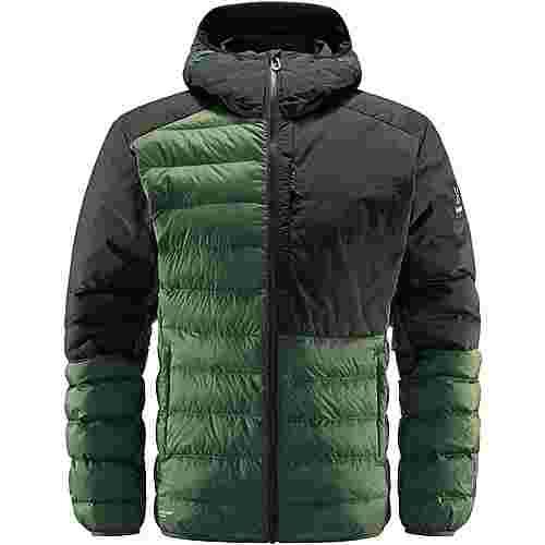 Haglöfs Dala Mimic Hood Outdoorjacke Herren Fjell Green/True Black