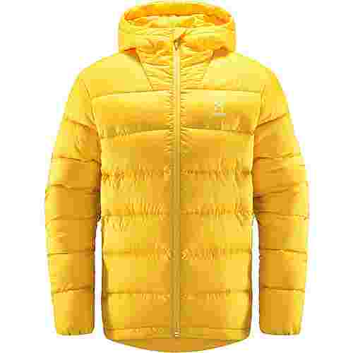 Haglöfs Bield Down Hood Outdoorjacke Herren Pumpkin Yellow