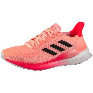 adidas SOLAR BOOST 19 W Laufschuhe Damen light flash orange-core black-signal pink