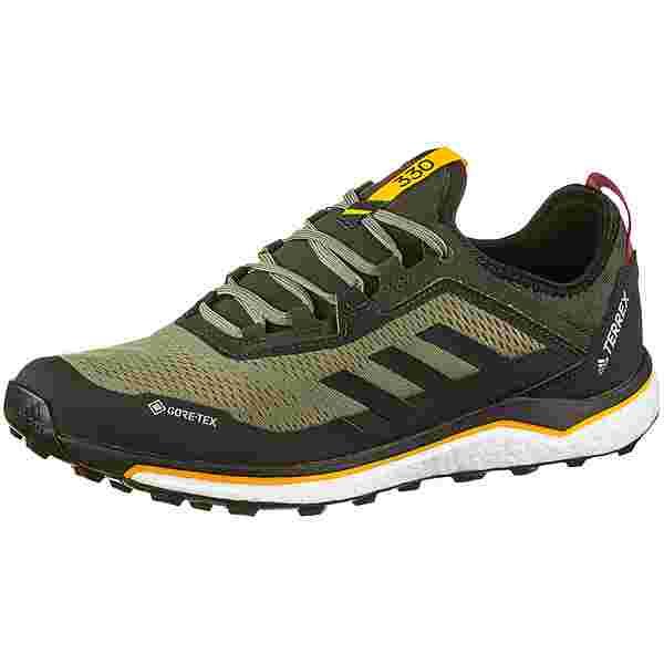 adidas GTX AGRAVIC FLOW Trailrunning Schuhe Herren legacy green-core black-solar gold