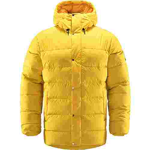 Haglöfs Näs Down Jacket Outdoorjacke Herren Pumpkin Yellow