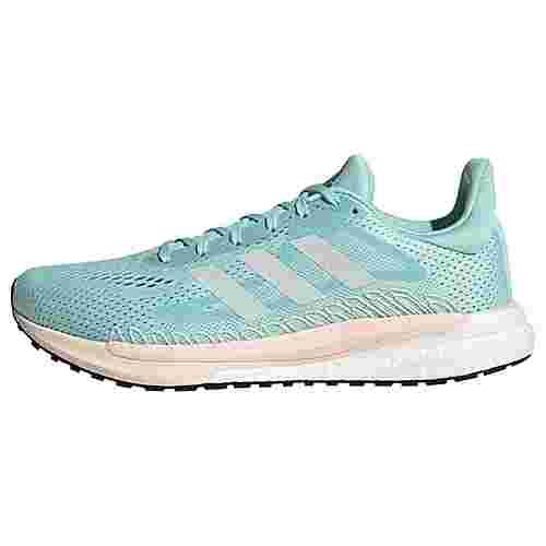 adidas SolarGlide 3 Laufschuh Laufschuhe Damen Frost Mint / Cloud White / Pink Tint