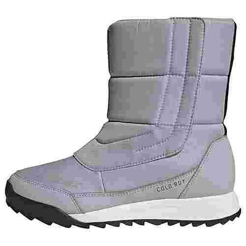 adidas TERREX Choleah COLD.RDY Stiefel Winterschuhe Damen Glory Grey / Core Black / Purple Tint