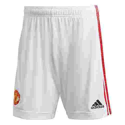 adidas Manchester United 20/21 Heimshorts Funktionsshorts Herren Weiß