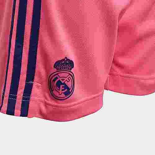 adidas Real Madrid 20/21 Auswärtsshorts Funktionsshorts Kinder Rosa