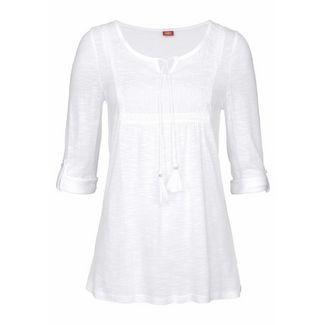 Buffalo T-Shirt Damen weiß