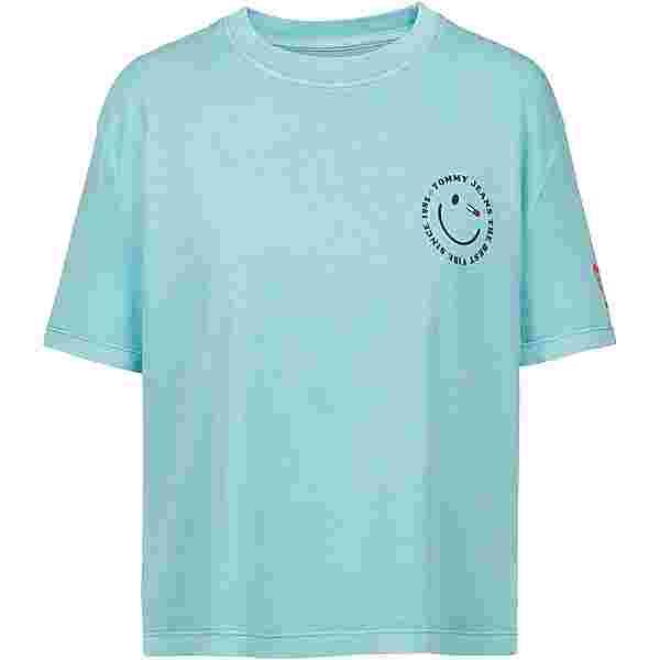 Tommy Hilfiger T-Shirt Damen light chlorine blue