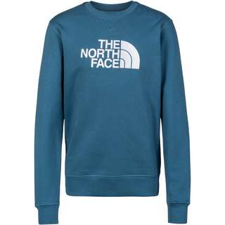 The North Face DREW PEAK Sweatshirt Herren mallard blue/tnf white