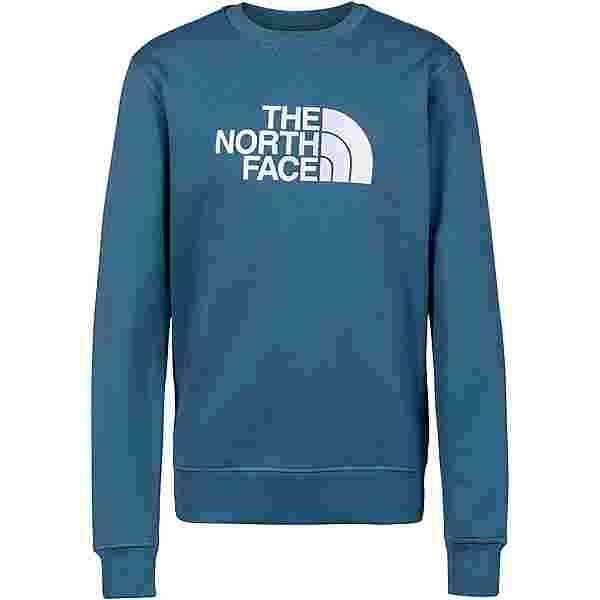 The North Face DREW PEAK Sweatshirt Herren mallard blue-tnf white