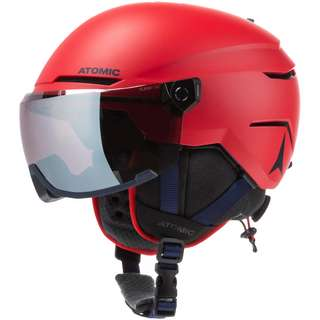 ATOMIC Savor Visor Jr Skihelm Kinder red