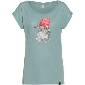 iriedaily It Hasi T-Shirt Damen beryl