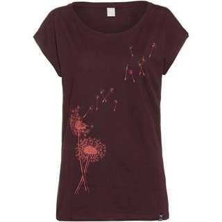 iriedaily Pusteblume T-Shirt Damen nightfall