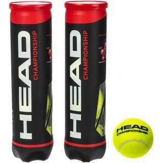 HEAD 2x4B CHAMPIONSHIP Tennisball gelb