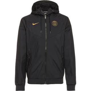 Nike Paris Saint-Germain Windbreaker Herren black-black-black-truly gold
