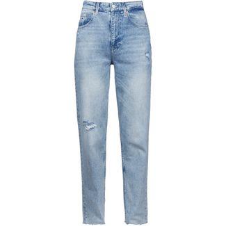 Tommy Hilfiger Straight Fit Jeans Damen cony light blue comfort destructed