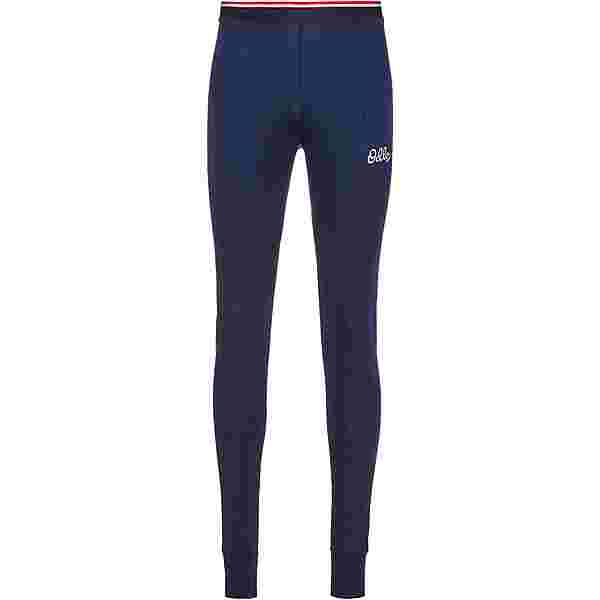 Odlo ACTIVE WARM ORIGINALS ECO Funktionsunterhose Herren diving navy