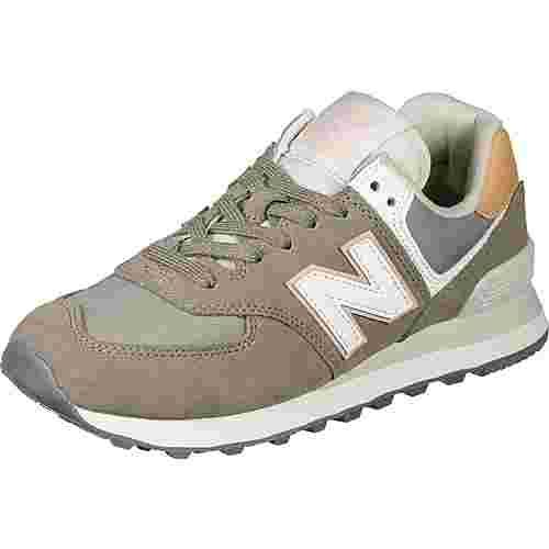 NEW BALANCE WL574 Sneaker Herren grey/white