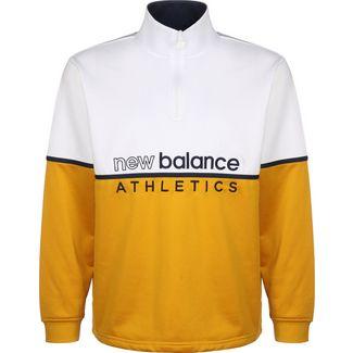 NEW BALANCE MT01506 Sweatshirt Herren gelb/weiß
