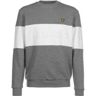 Lyle & Scott Logo Sweatshirt Herren grau/meliert
