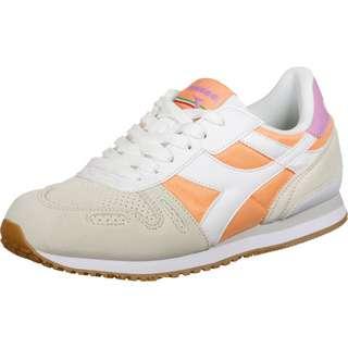 Diadora Titan Soft Sneaker Damen weiß/orange