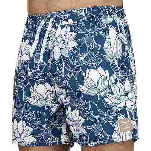 iriedaily Dude Boardshorts Herren blau/weiß