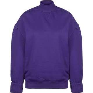 Urban Classics Turtleneck Crew Sweatshirt Damen lila