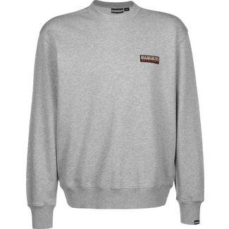 Napapijri Base C 1 Sweatshirt Herren grau/meliert