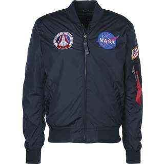 Alpha Industries MA-1 TT NASA Reversible II Windbreaker Herren blau