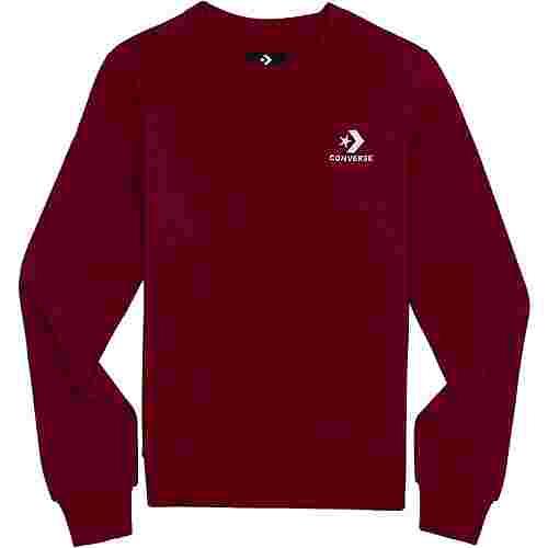 CONVERSE Star Chevron Sweatshirt Herren rot