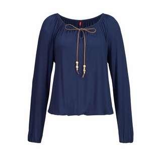 S.OLIVER Longshirt Damen dunkelblau