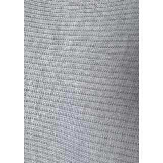 Lascana Strickkleid Damen grau-meliert
