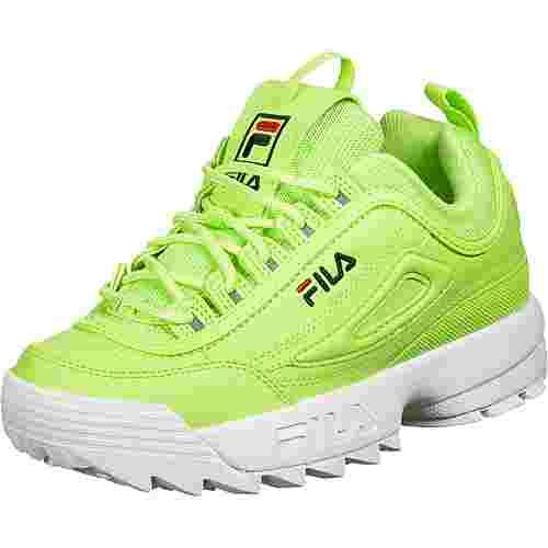 FILA Disruptor Low Sneaker Damen grün/neon