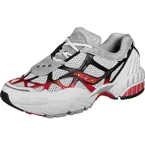 Saucony Grid Web Sneaker Herren weiß/grau/rot