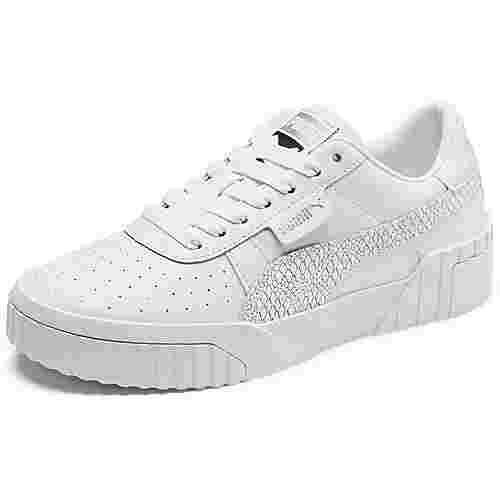 PUMA Cali Snake W Sneaker Damen weiß