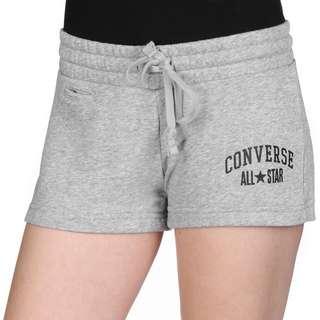 CONVERSE Stripe Track W Shorts Damen grau/meliert