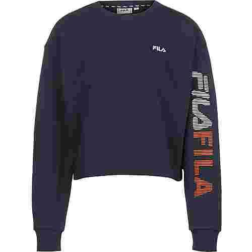 FILA Cropped Sweatshirt Damen blau