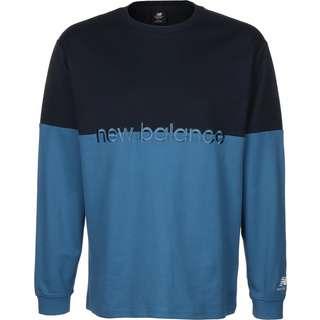 NEW BALANCE MT01507 Longshirt Herren blau