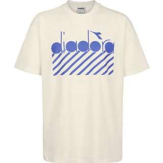 Diadora Barra T-Shirt Herren weiß/beige