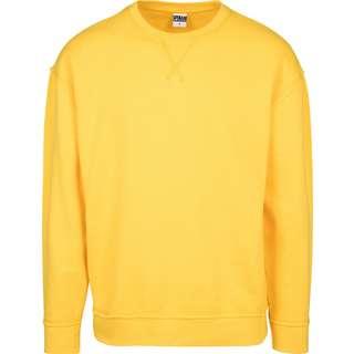 Urban Classics Oversized Open Edge Sweatshirt Herren gelb