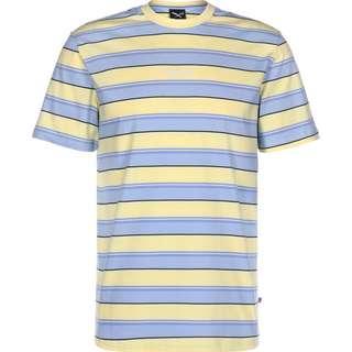iriedaily Tony Stripe T-Shirt Herren gelb/blau/gestreift