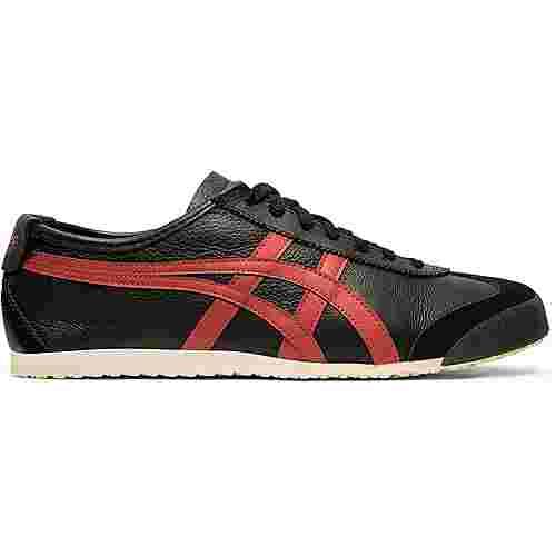 ASICS Mexico 66 Sneaker schwarz/rot