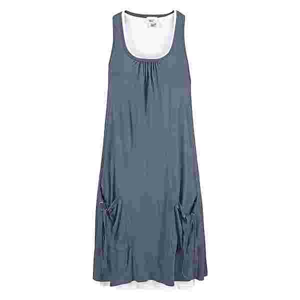 BEACH TIME Jerseykleid Damen blau